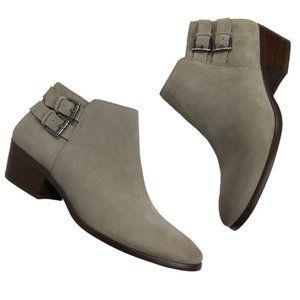 Sam Edelman | Grey Suede Petal Booties Size 6.5